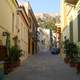 Street view in Plaka, Athens, Greece