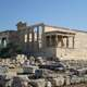 View of the Erechtheum in Athens
