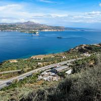 Souda in Crete, Greece landscape