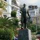 Eleftherios Venizelos statue in Rethymno, Greece