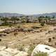 Excavation site towards Eleusis and the Saronic Gulf in Greece