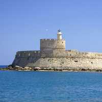 Fort Saint Nicolas in Rhodes, Greece