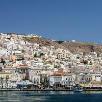 Hermoupolis on the Island of Syros, Cyclades, Greece