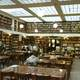 Inside the municipal library in Patras, Greece