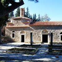 Kaisariani Monastery in Greece