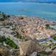 Nafplion cityscape and landscape in Greece