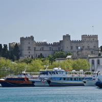 Palace of the Grand Master of the Knights of Rhodes in Greece