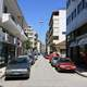Street in Karditsa in Greece