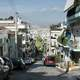 Streets of Hippodamian grid in Piraeus, Greece