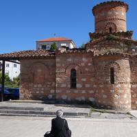 The church of Panagia in Kastoria, Greece
