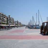 Volos' promenade in Greece
