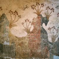 Bronze Age Art at Santorini, Greece