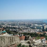 Cityscape view of Thessaloniki