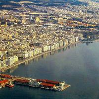 Port and City Center of Thessaloniki