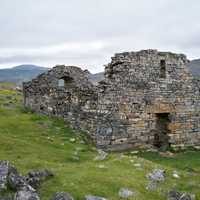 Church of Hvalsey Nordic Ruins on Greenland