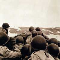 US Troops landing on Greenland