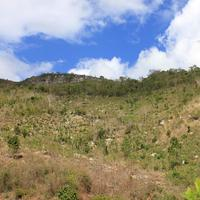 Looking at the peak near Pignon, Haiti