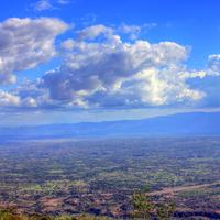 Skies over the valley near Pignon Haiti