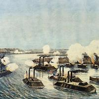 Bombardment and Capture of Island Number Ten in The American Civil War