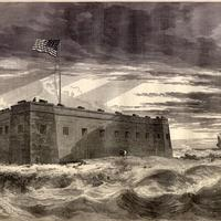 Fort Pickens, the site of the Battle of Santa Rosa Island in the American Civil War