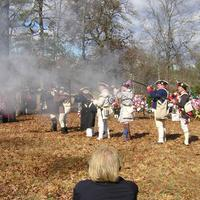 Battle of Cowpens Reenactment during the American Revolution