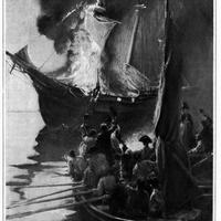 Burning of the Gaspee, an event leading up to the American Revolution