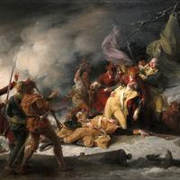 The Death of General Montgomery in the Attack on Quebec in the American Revolution