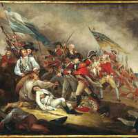 Death of General Warren at the Battle of Bunker Hill, American Revolution