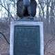 Dongan Oak memorial in Prospect Park remembering Battle of Long Island
