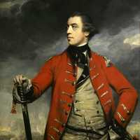 Portrait of General John Burgoyne at Saratoga