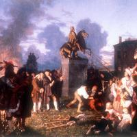 Pulling Down the Statue of King George III