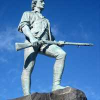 Statue of Minutemen at Lexington and Concord, Massachusetts
