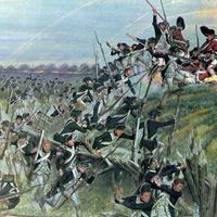 Storming of Redoubt 10 by American Soldiers in the American Revolution