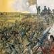 Storming of Redoubt 9 during the battle of Yorktown, American revolution