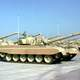Kuwaiti Armed Forces M-84 main battle tanks during the Gulf War