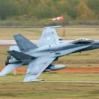 Canadian CF-18 Hornets participated in combat during the Gulf War, Iraq