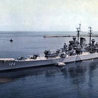 USS Rochester, Flagship of  Vice Admiral Arthur D. Struble during the Korean War