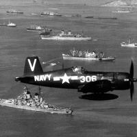 Vought F4U-4B Corsair of Fighter Squadron 113 during the Korean War