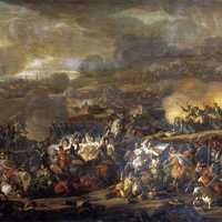 Battle of Leipzig, involving over 600,000 Soldiers during the Napoleonic Wars
