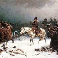 Napoleon's Retreat during the Russian Winter