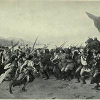 Return of the Victorious Greeks from the Battle of Salamis
