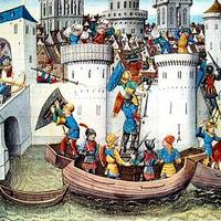 Conquest of the Eastern Orthodox city of Constantinople by the Crusaders in 1204