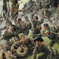 Battle of Doberdo between Austria-Hungary and Italy during World War I