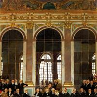 Signing of the Treaty of Versailles in 1919