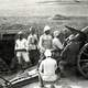 Turkish howitzer and crew in World War I