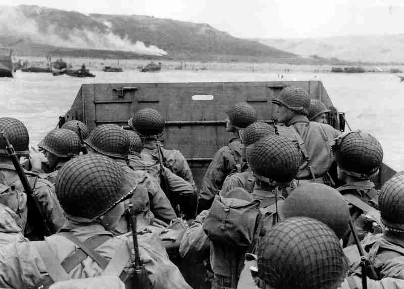 the d-day beach landings