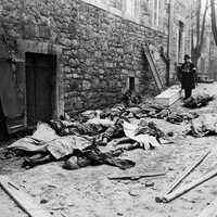 Belgian civilians killed by German units during the offensive during the Battle of the Bulge