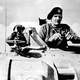 British General Bernard Montgomery Watching the Second Battle of El Alamein
