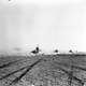 British tanks advance to engage German armour  during Second Battle of El Alamein