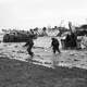 British Troops coming ashore at Gold Beach, D-Day, World War II